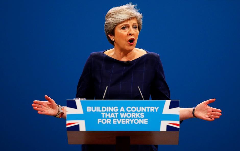 Мэй осталась премьером Британии - Обновлено