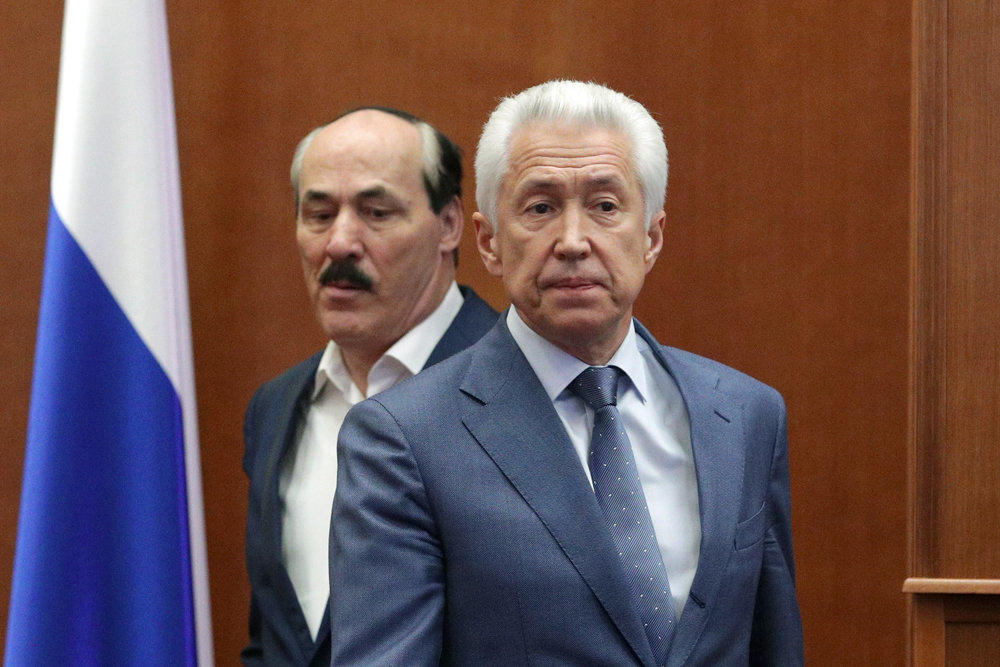 Dagestan leader hospitalized in Moscow