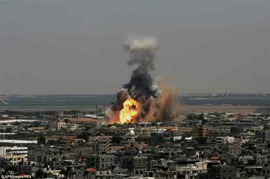 Israeli army: We targeted 'Hamas military sites in Gaza