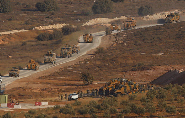 Turkish forces send reinforcement to Idlib