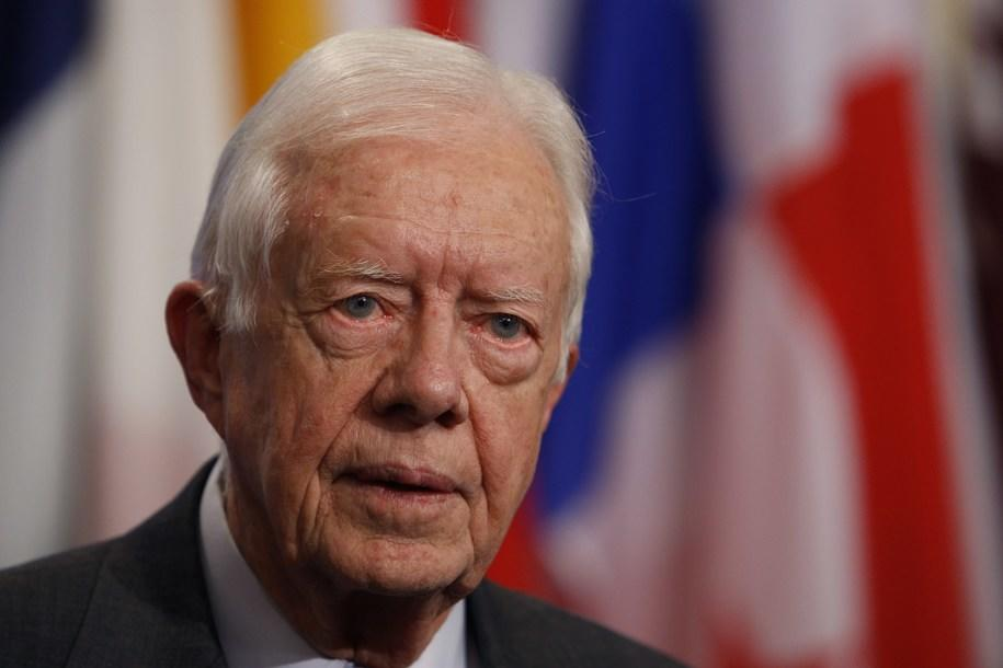 ABŞ-ın keçmiş prezidenti yıxıldı, çanağı sındı