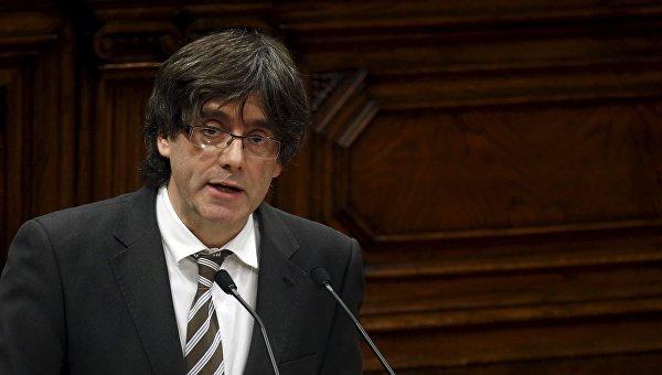 Kataloniya lideri hakim qarşısına çıxdı