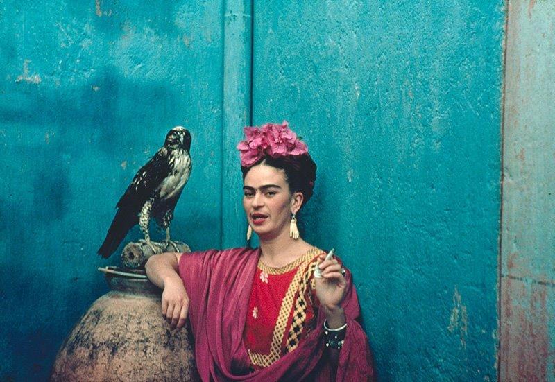 Trotskinin məşuqu, daim xəyanət görən məşhur Frida - Foto