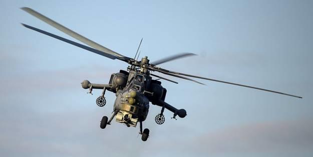 ABŞ helikopterləri Türkiyə sərhədində... - Video