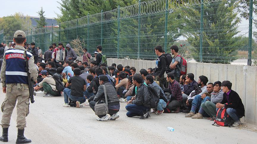 Over 200 undocumented migrants held in NW Turkey
