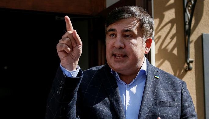 Prokurorun şok iddiasına Saakaşvilidən -