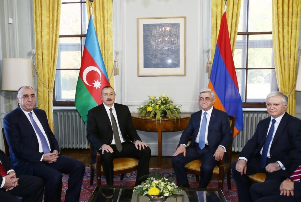 Заявление о встрече Алиева и Саргсяна