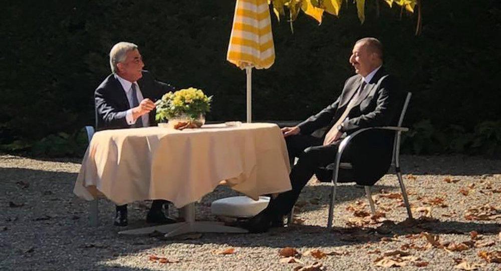 Саргсян рассказал о встрече с Алиевым
