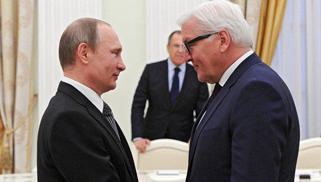 Путин встретится с президентом ФРГ