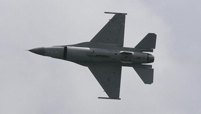 Под Мадридом разбился истребитель F-18