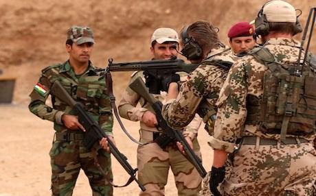 Германия приостановила обучение сил пешмерге в Ираке