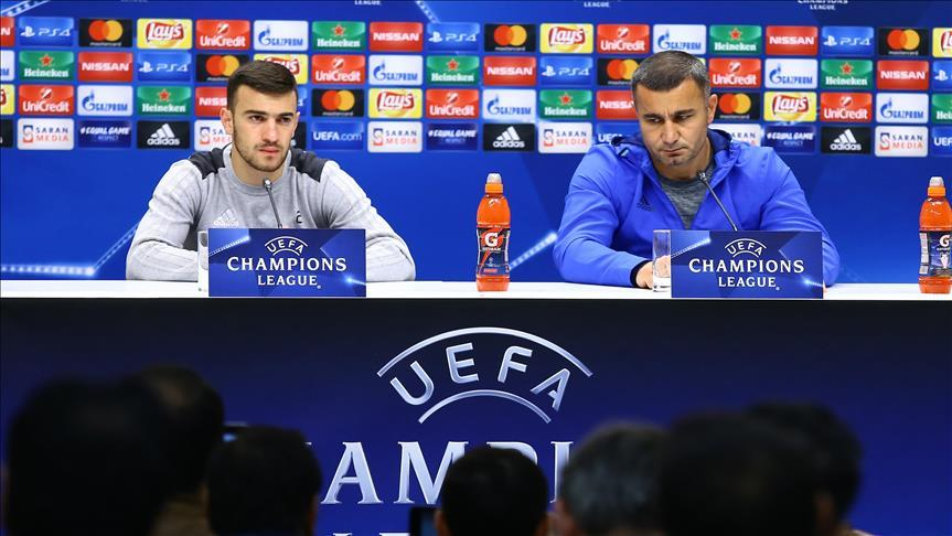 «Карабах» настроен на победу над «Атлетико»