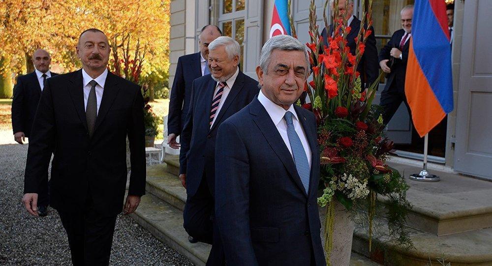 Саргсян проиграл в Женеве Алиеву - Манвел Саркисян