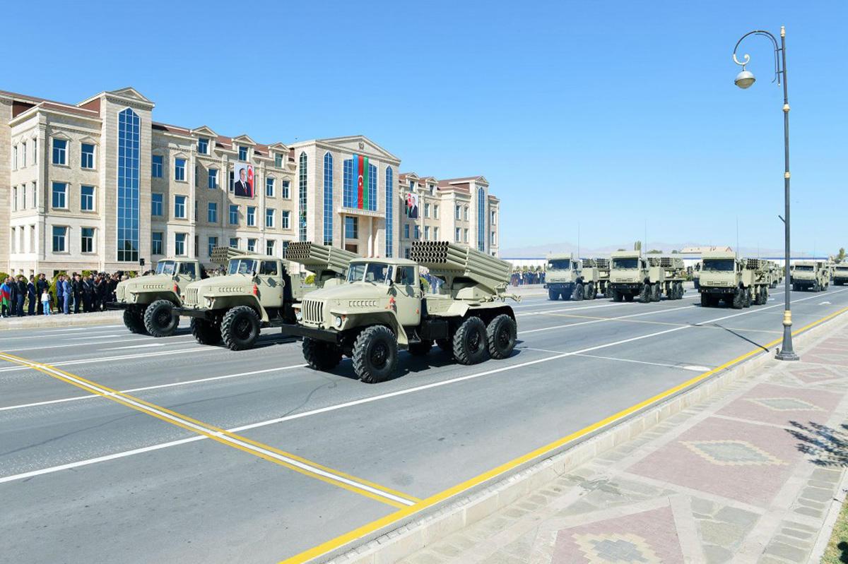 Нахчыван показал военную мощь -- Парад/ Фото