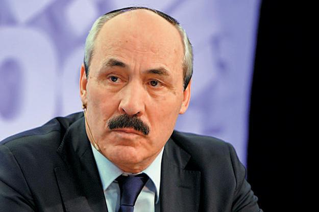 Путин поставил Абдулатипова на Каспий