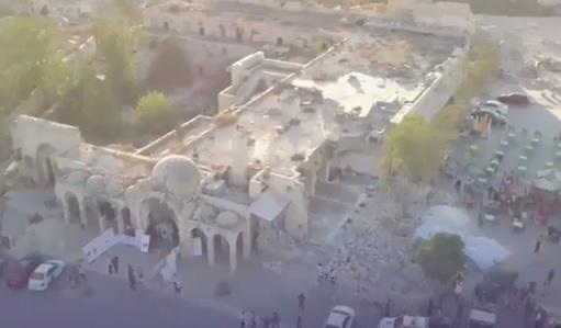 Hələbdə əsirlərin terrorçulardan qurtulma anı - Video