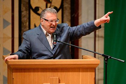 Жириновский назвал Собчак подставным кандидатом