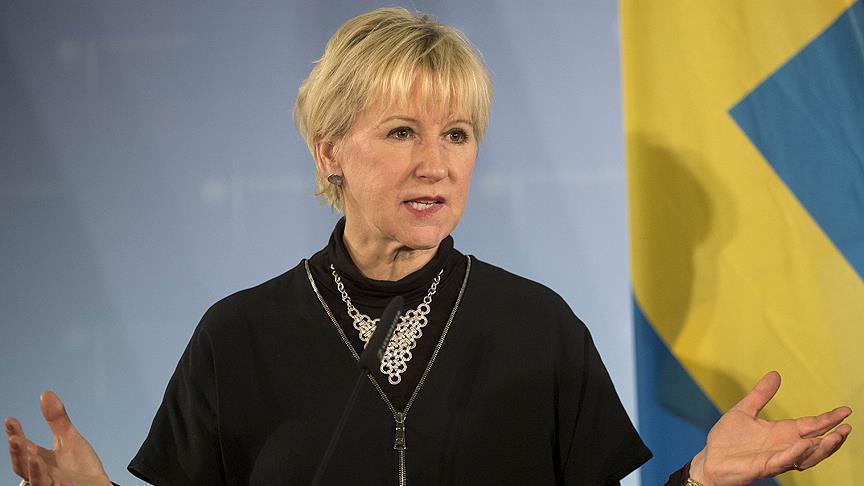 Глава МИД Швеции сообщила о сексуальных домогательствах
