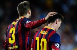 Messi Pikenin üstünə niyə qışqırıb?