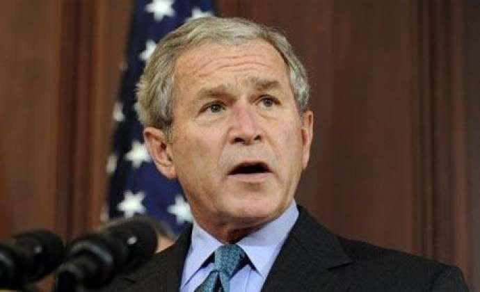 بوش: پوتینله احتیاطلی اولون، او عقللیدیر