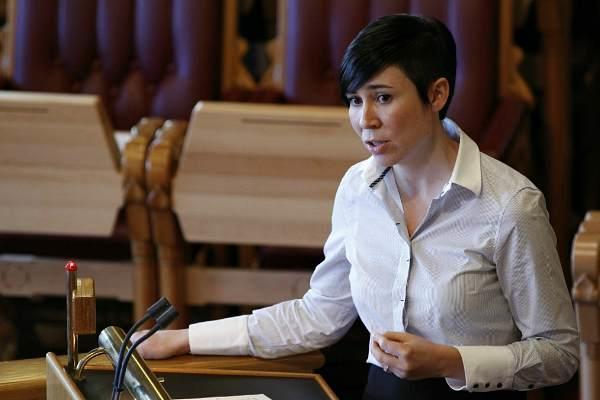 Главой МИД Норвегии вперве стала женщига