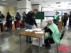 Voting in elections in Georgia is over