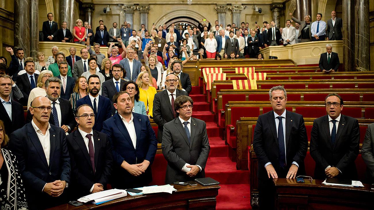 Каталония отказалась подчиняться Мадриду