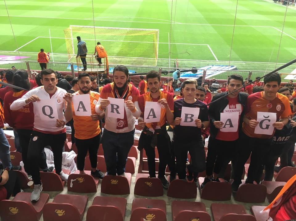"""""""Qalatasaray""""dan """"Qarabağ""""a qardaş mesajı - Foto"""