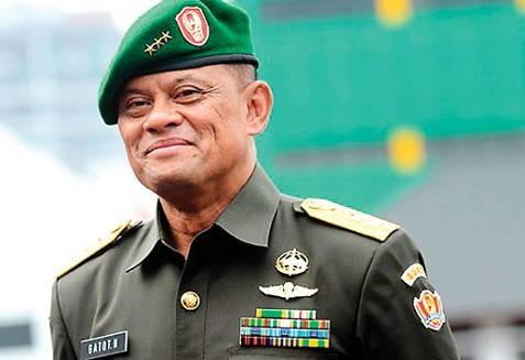 Главкому ВС Индонезии запретили въезд в США