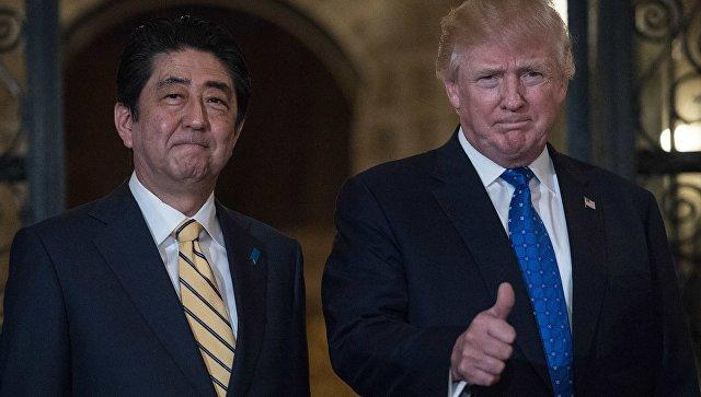 Trade, North Korea on agenda for Trump-Abe talks