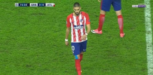 """Atletiko""nun futbolçusu cəzalandırıldı -"