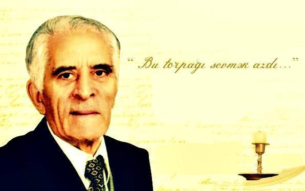 Sözü Qarabağ səngərlərindən eşidilən böyük şairimiz