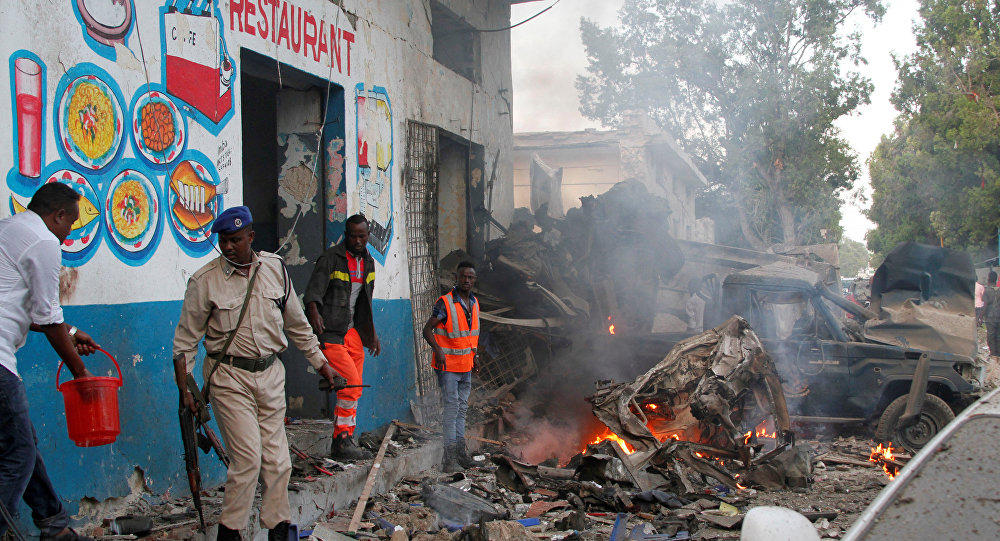 Big explosion heard in Somali  -