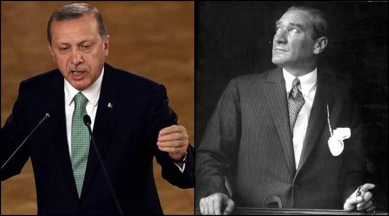 What unites Erdogan and Ataturk - French newspaper