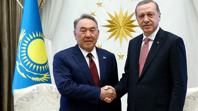 Erdogan wishes Nursultan Nazarbayev Happy Novruz
