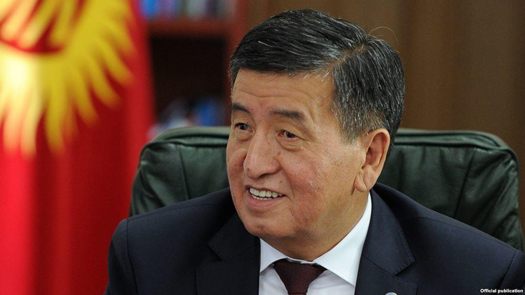 Kyrgyzstan's president due in Turkmenistan