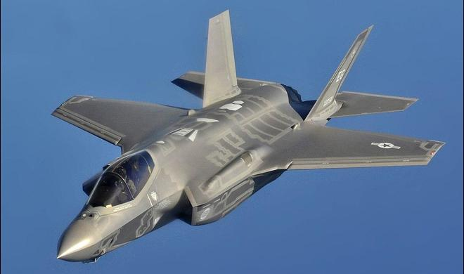 F-35 makes its debut in Danish air space