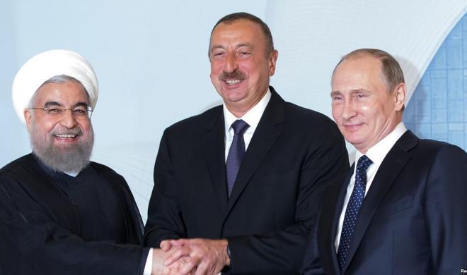Əliyev, Putin və Ruhani görüşür: Vaxt açıqlandı