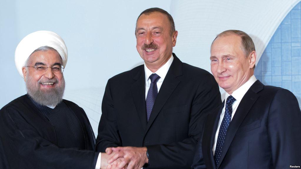 Названы сроки саммита Путина, Алиева и Рухани в Сочи