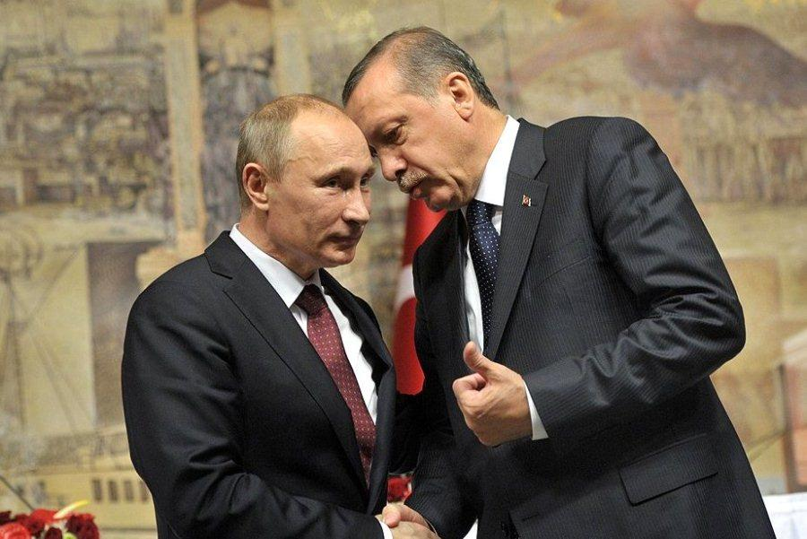 Erdogan, Putin discuss Syria, Libya on phone call