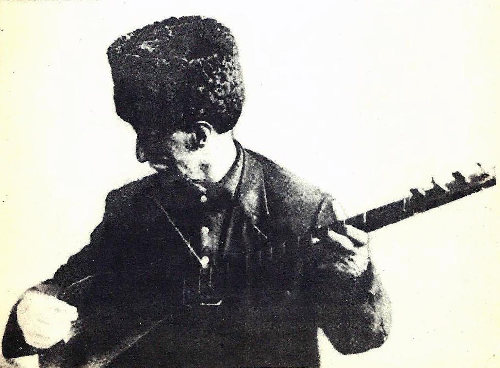 شمشیر گرک مرد اوجاغین قالاسین- شعیر