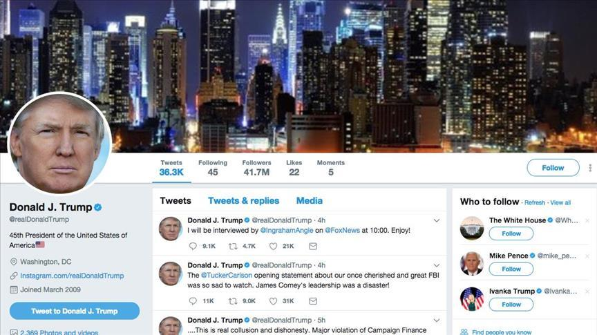 US judge rules Trump can't block Twitter users