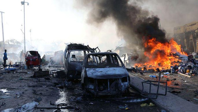 ABŞ qırıcıları terrorçuları bombaladı: 100 ölü
