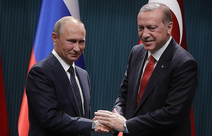 Putin invites Erdogan opening of Central Mosque in Crimea