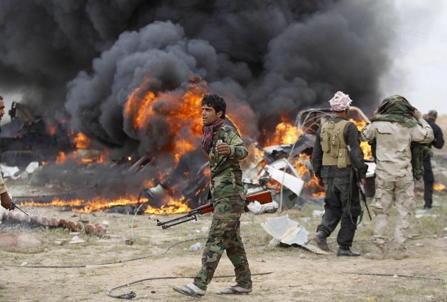 Tikritdə terakt: 2 ölü, 17 yaralı