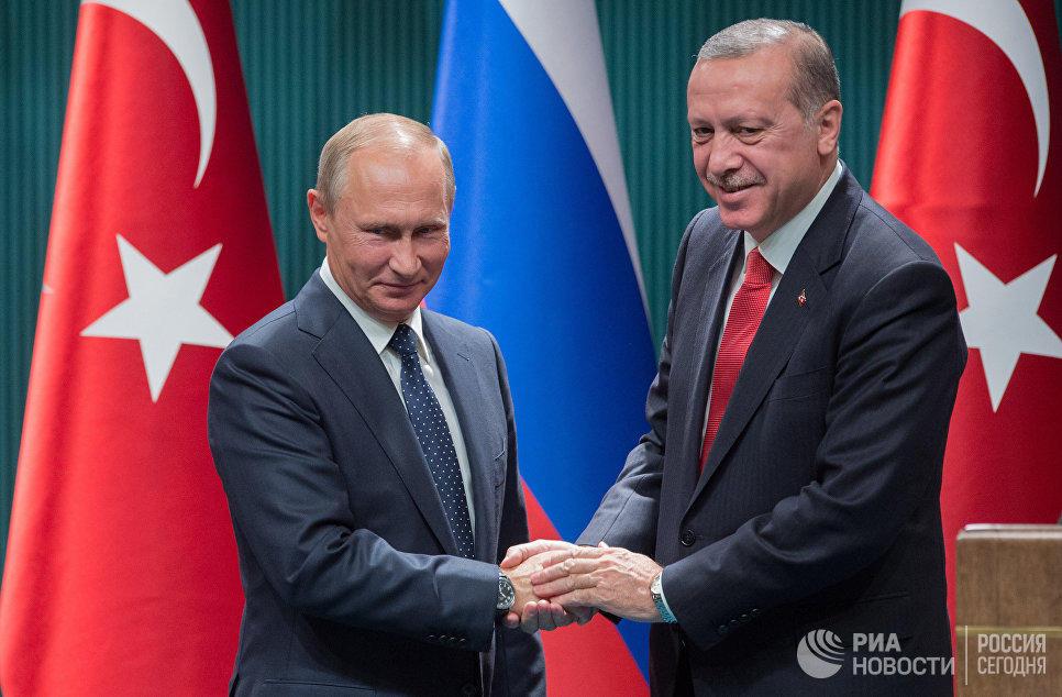 ۵ رایونون قایتاریلماسی ایله باغلی پوتینه دئدیم کی... - اردوغان