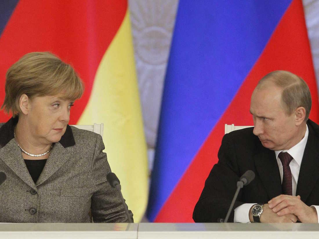 Merkel Rusiya qazından imtina etmədi