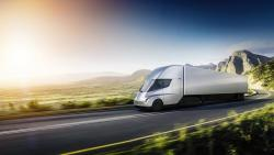 Tesla reveals its first electric truck