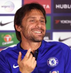 Antonio Conte to shave if Chelsea lose to Qarabag FC
