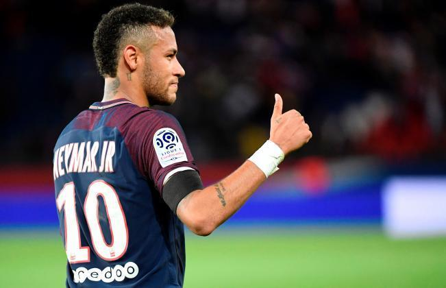 Neymar in PSG team for first time in four months